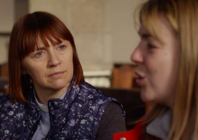 Rebecca Manley in Moorside (BBC One)