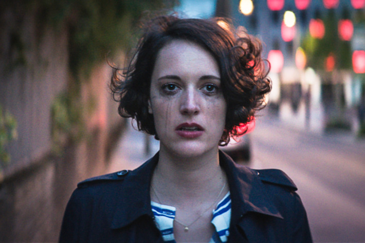 Phoebe Waller-Bridge, creator and writer of Fleabag (BBC3)