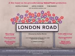 Nicola Sloane and Clare Burt in London Road (Stage) & Daisy Maywood in London Road (Film)