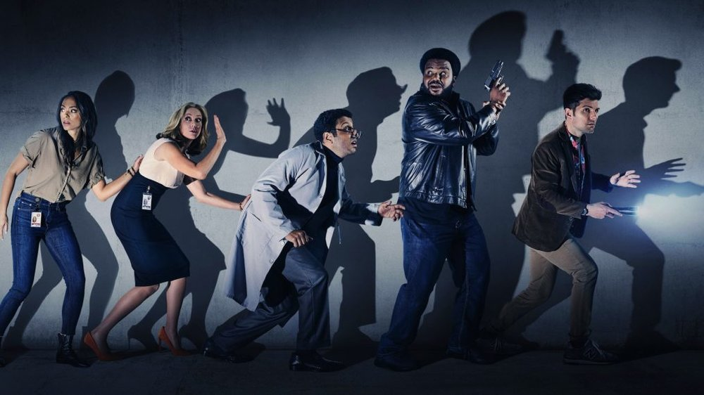 Adeel Akhtar in Ghosted -