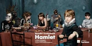 Matthew Steer in Hamlet (Barbican)