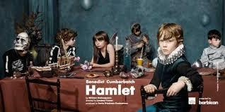 Matthew Steer in Hamlet (Barbican)