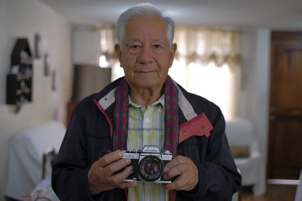 This is Alfredo Mora, my great uncle. It was because of him I saw the art of photography.