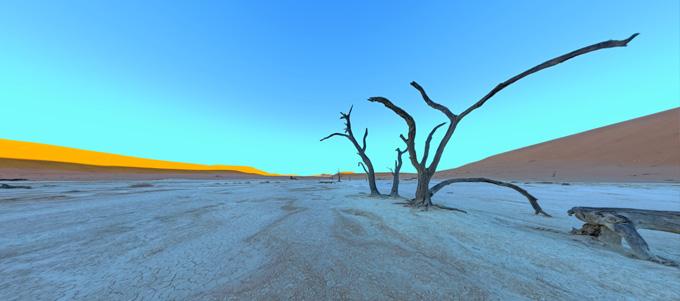 Panorama - Dead Vlei, Namibia, April 2013