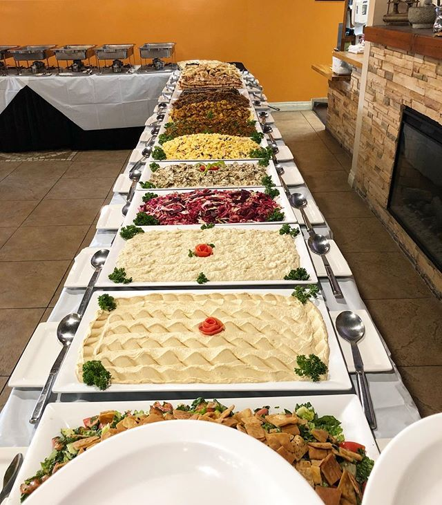 Tonight's Iftar buffet at our mother restaurant @alepposkitchen is about to begin! Don't miss out this Ramadan. Make your reservations now