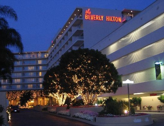 the beverly hilton   world famous venue for the golden globes, this hotel will dazzle your guests. event space for up to 1500 guests.
