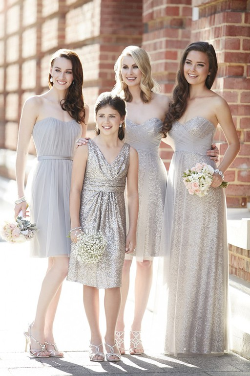 Sorella Vita bridesmaids and Jr. Bridesmaids available in store