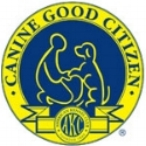 AKC canine good citizen badge