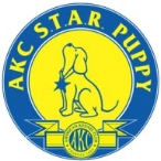akc star puppy badge