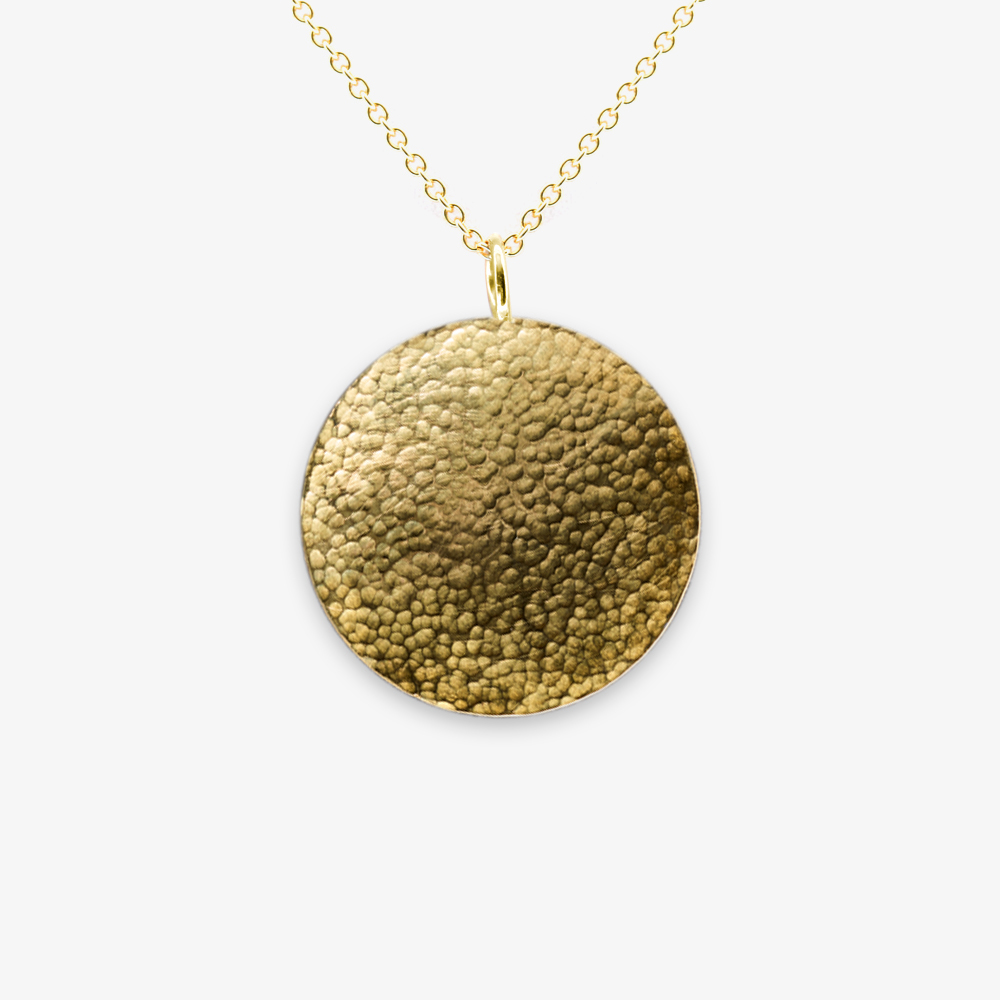 Ílios Gold Pendant — Angela Georgiou