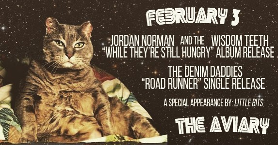 Hey Edmonton! Our hilarious and talented pal Jordan Norman is releasing a brand new album at @aviarynorwood this Saturday. And our honky tonkin' brothers @thedenimdaddies are releasing their brand new single. See ya there! . . . . . . . . . . . #newalbum #friendswhorule #newmusic #albumrease #theaviary #edmontonmusic #yeglive #thewisdomteeth