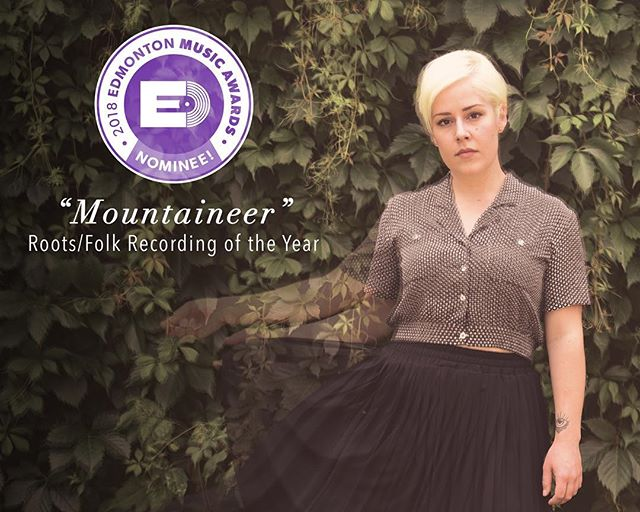 "CONGRATULATIONS @vissia_3 on her Edmonton Music Awards nomination! ""Mountaineer"" is nominated for Roots/Folk Recording of the Year! . . . . . #hurryhardrecords #VISSIA #westerncanada #touringartist #independentmusic #recordlabel #Canadian #americana #folkrock #rocknroll #singersongwriter #PlaceHolder #singer #powerhouse  #newmusic #Albertabased #CanadianMusician #lyricsfirst #whiskeylovers #instadaily #girl #music #listentothis #goodmusic #love #melody #favouritesong"