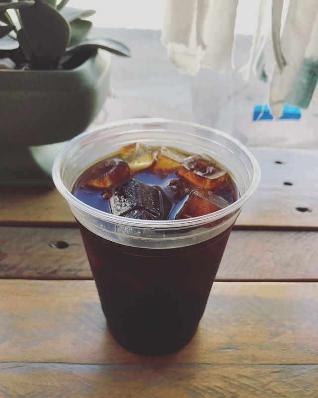 Today's go-go practice juice. #coldbrew