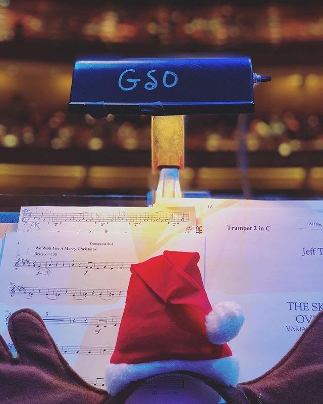 Christmas lights. #gso #tinysantahat