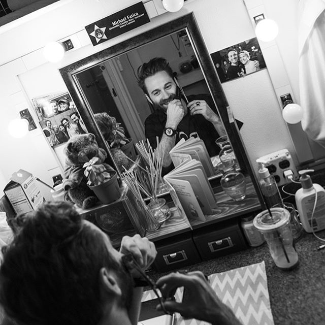 LOVING these amazing photos giving an insight into backstage life at @groundhogdaybwy. Thanks @broadwayboxcom and @jennyandersonphoto for the great shots :)