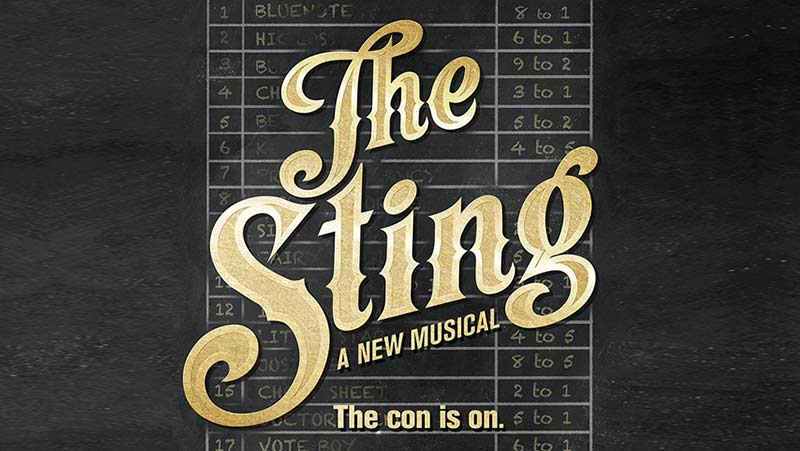4.8.17 - THE STING opens today at the PAPERMILL PLAYHOUSE in Millburn, NJ.  See Michael as FLOYD, the rough and scrappy Bodyguard to Tom Hewitt's LONNEGAN.