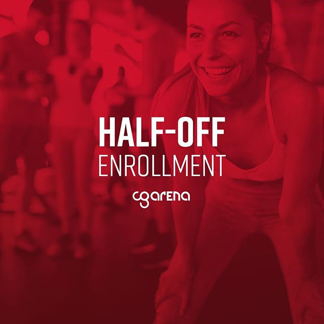 Temperatures are high, but our enrollment fee is low! Sign-up for any membership level from August 1-31 and only pay $50 enrollment. See a Membership Advisor at CG Arena for details! #cgarenagroupfitness