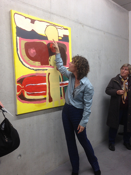 - Molly Stevens founded Artstep in 2011. She has led group tours through New York galleries since 2015, including for the Brandeis Alumna art group. As an artist, she has exhibited and lectured across the United States, in Europe and in Mexico. She is also the director of the Art of Translation an agency specializing in art-related texts including catalogues, artist writings and academic essays.The team collaborating with Artstep includes professional artists, art historians, gallerists and art administrators.