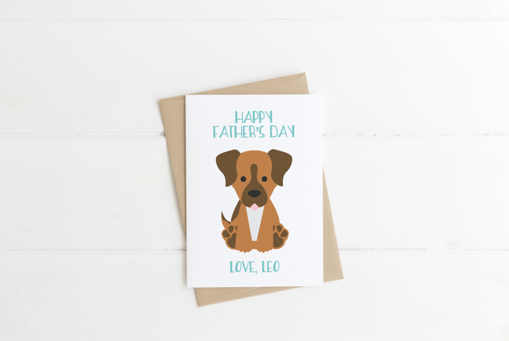 Beagle Dog Mom Birthday Card