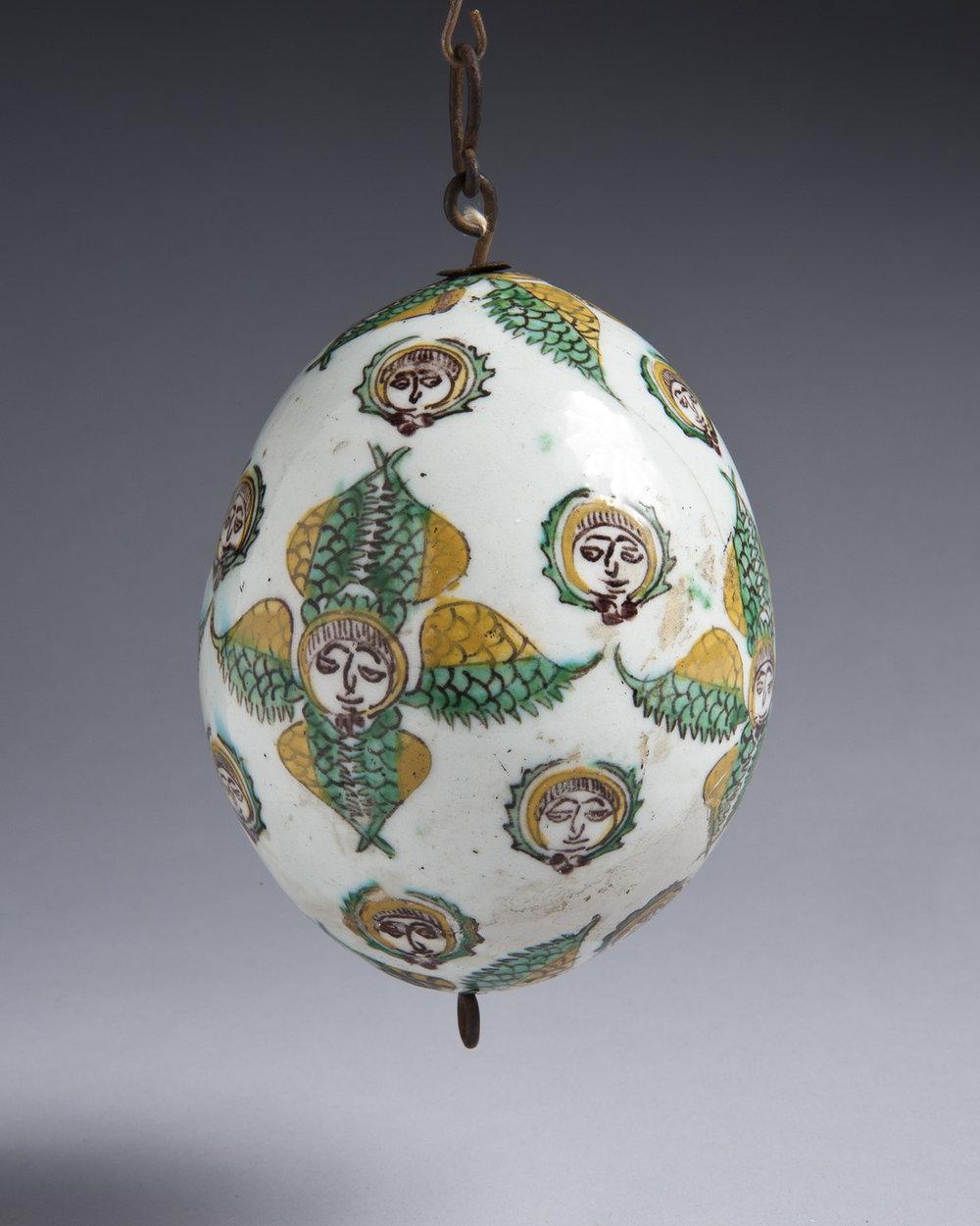 Ceramic egg