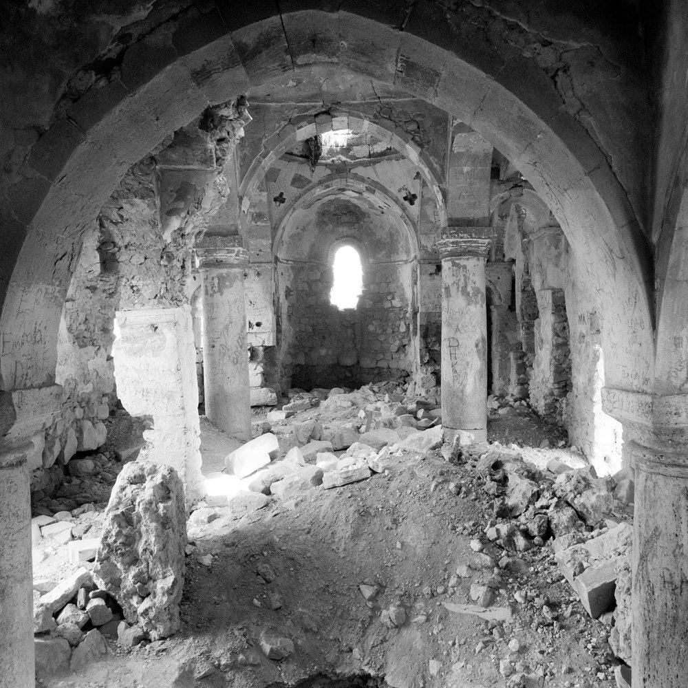 Hulvanek, a 1200 year old Armenian monastery, Elazığ province (historical Kharpert), Turkey 2015