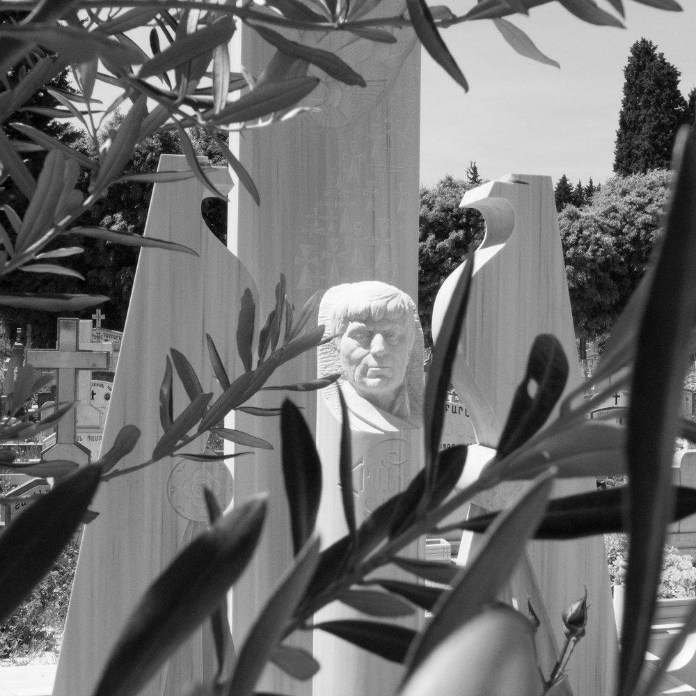 Hrant Dink Gravesite, Istanbul, Turkey 2015