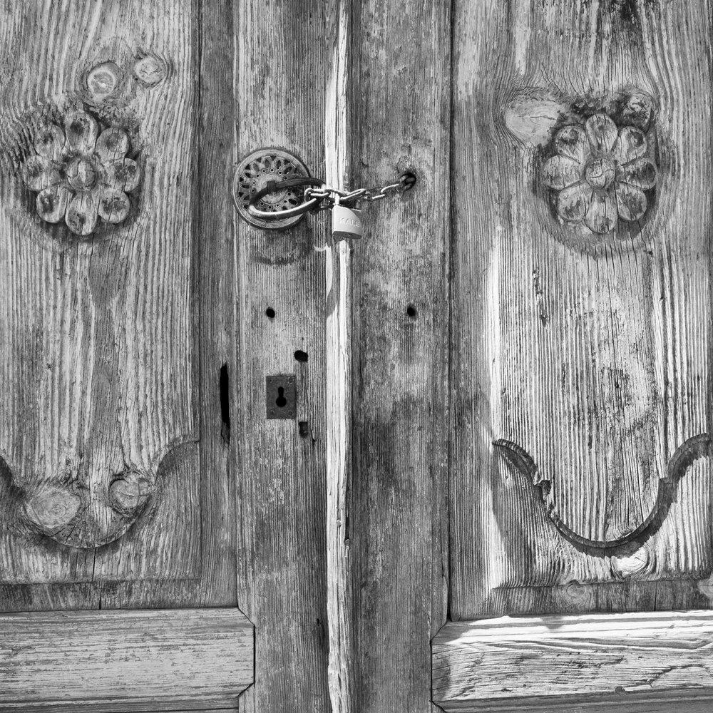 Front door of Armenian home, Yalova, Turkey 2015