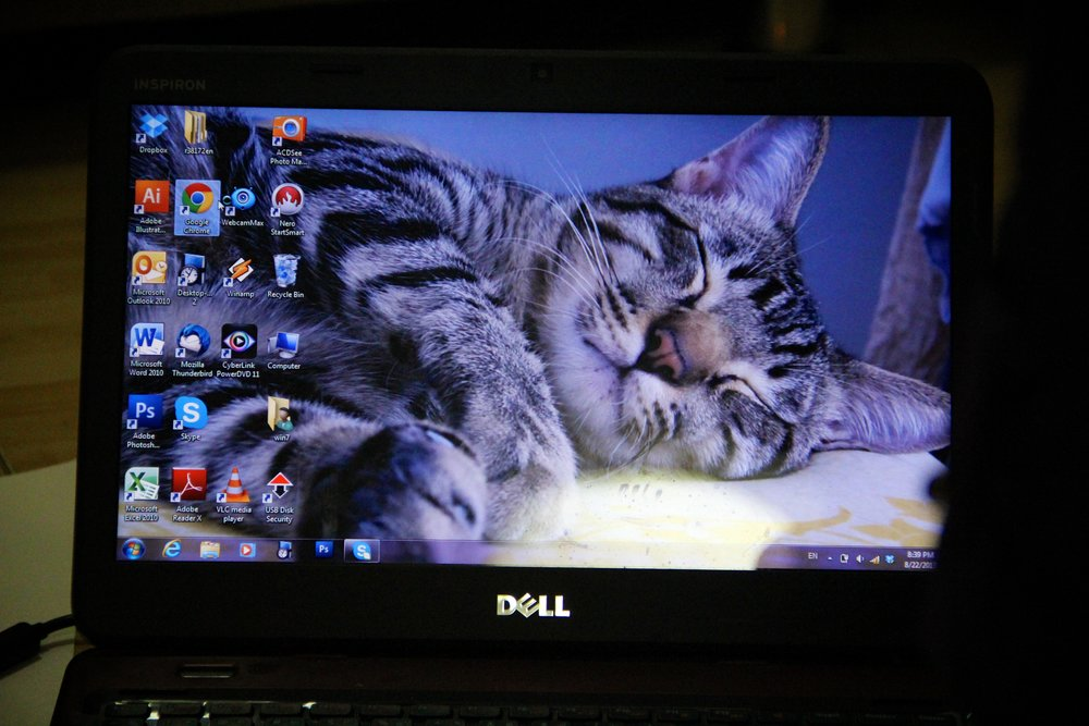 Chiang Mai participant's desktop (August 2013)