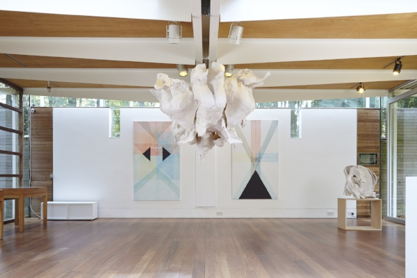 Juliana Cerqueira Leite , 2014, Installation view, Cass Sculpture Foundation, Sussex, U.K.