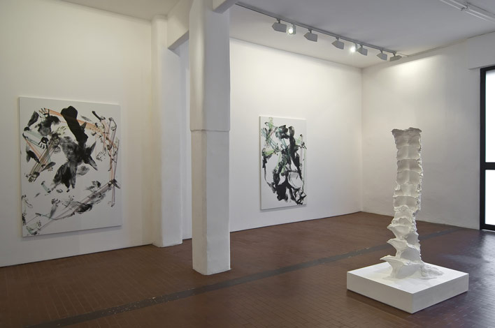 Precede / Proceed , 2012, Installation view, Galleria Lorcan O'Neill, Rome, Italy