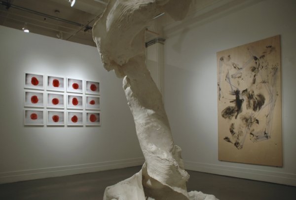 The Climb is Also The Fall , 2011, installation view, A.I.R. Gallery, New York, USA