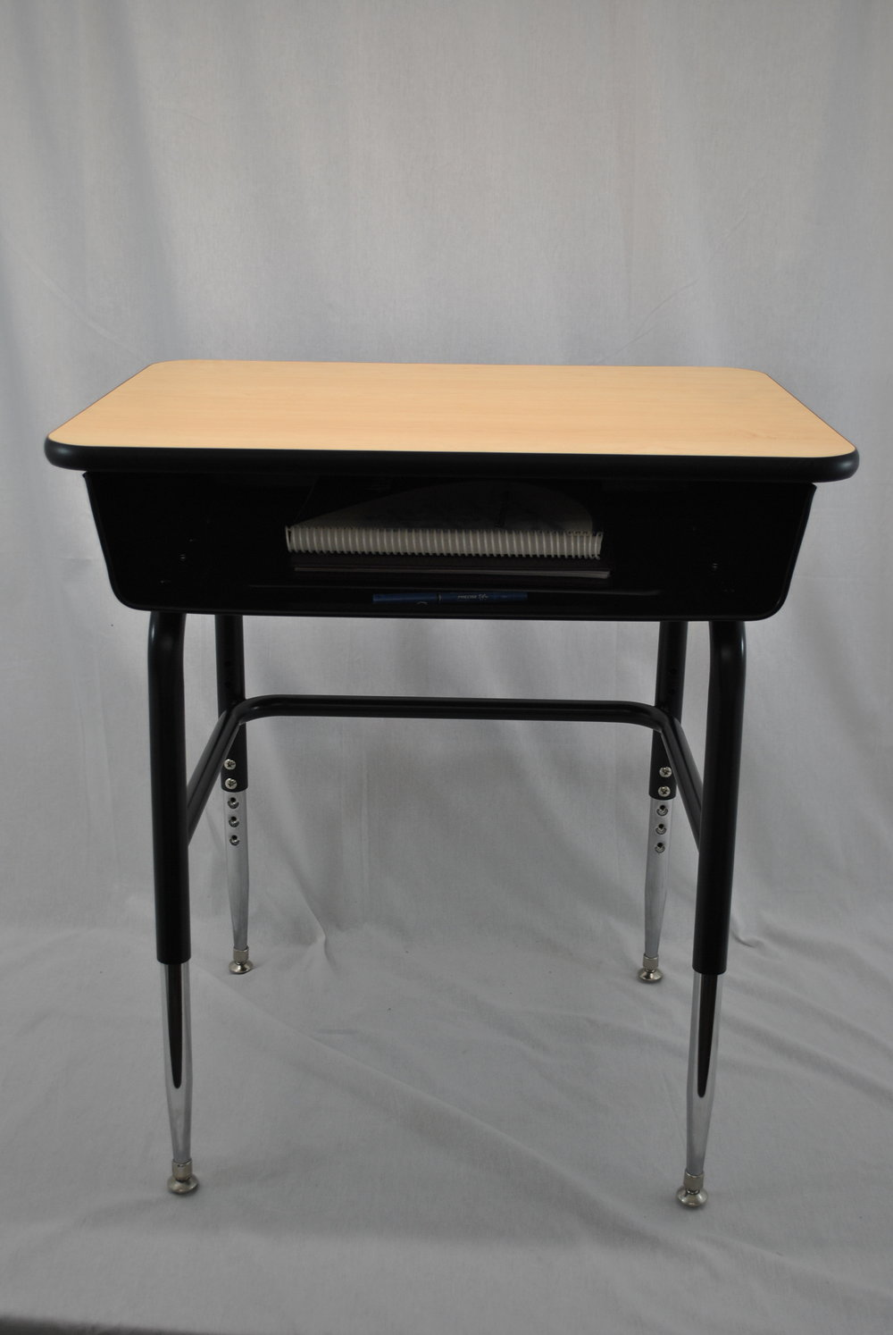 Julius Series - 4 Leg Open Front Box Desk