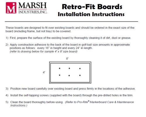 Marsh Industries Care Warranty And Installation