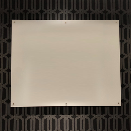 "Glass Markerboards - Standoff Mount Option ""Bolt"""