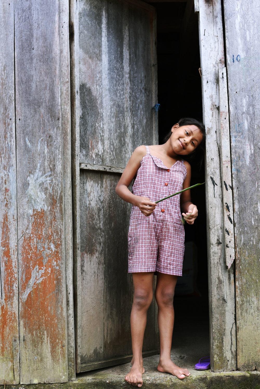 Brigitte en la Amazonia//Brigitte in the Amazon