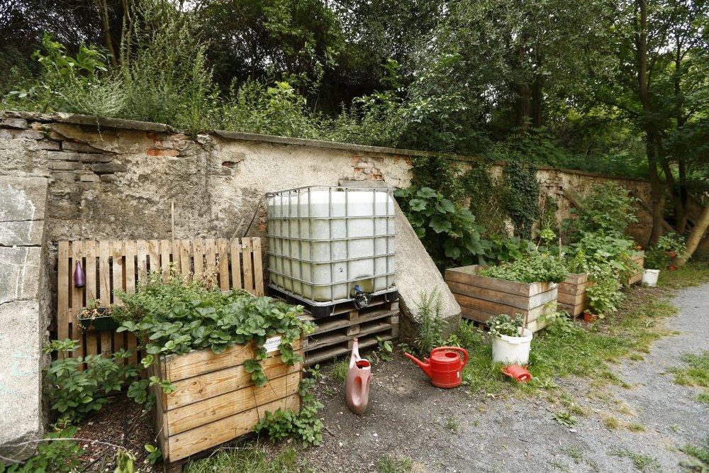 Mečislavova: pěstujeme sousedství - Vnitroblok slouží jako oblíbená komunitní zahrada, která vznikla na zanedbaném plácku. Pořádají se tu sousedské akce, 24 truhlíků se sezónně adoptuje k zahradničení. Je zde voda, ohniště a gril, pískoviště i houpačka. Jednoduše skvělé místo pro vypnutí od městského shonu.