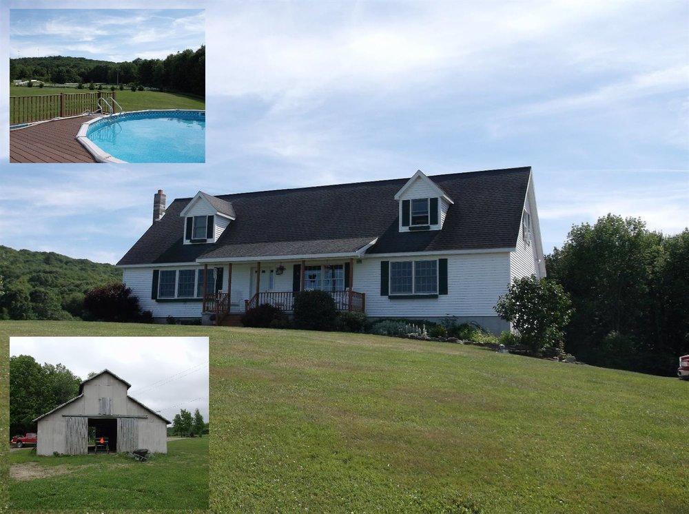 409,900 - 3 Bedrooms, 2 Baths42.60 AcresNice Home & Setting!Large Horse BarnSwimming Pool Off Large Deck