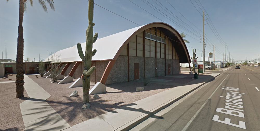 We are located near downtown Mesa, AZ in the Broadway Rec Center. -