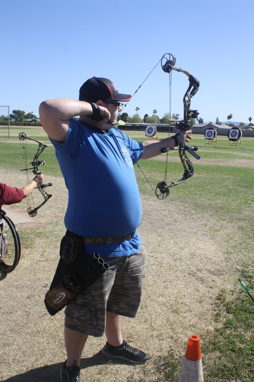 - Matthew Geib is a 19-year-old archer who has just completed his second archery season with AzDS.  Matthew has a traumatic brain injury that he sustained in February of 2016 after being hit by a school bus. Matthew had no prior shooting experience before participating in the archery program with AzDS, and now he has qualified for Junior Nationals with a score of 602 at the Desert Challenge Games. Matthew says that the AzDS archery program has led him to a great group of friends that accepts him for who he is and doesn't judge him; he has several other participants that he considers to be friends now. His biggest accomplishment this season was beating the goal that John Dee set for him at the beginning of the season. We are so excited to have him traveling to Fort Wayne, Indiana to compete at Junior Nationals!