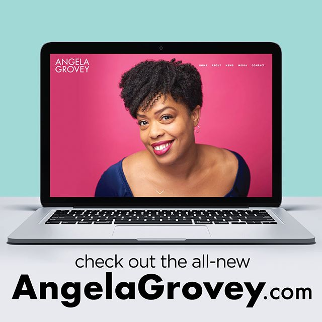 And the world will know! It was an honor to work with stage and screen performer @angelagrovey to design and produce her new website. Check out angelagrovey.com, then go see Angela on Broadway in Escape to Margaritaville @buffettmusical starting this Friday at the @mhmarquisnyc theatre! 🎶🎭📽📺⭐️ . . . #AngelaGrovey #EscapeToMargaritaville #EscapeToMargaritavilleMusical #Broadway #NewYork #Theatre #Theater #Musical #Performer #PerformerLife #Margaritaville #Newsies #DisneyNewsies #NewsiesMusical #DisneyTheatrical #MeddaLarkin #ThatsRich #JoyfulNoise #KimmySchmidt #Website #Design #Logo #WebsiteDesign #Designer #GraphicDesign #GraphicDesigner #Brand #Branding