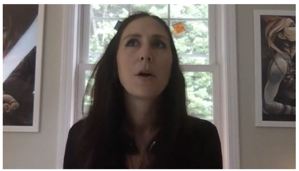 Jaime Fleres on Birth Your Story Webinar with Debra Pascali-Bonaro