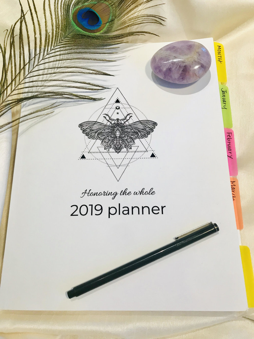 2019 Planner and Calendar by Jaime Fleres
