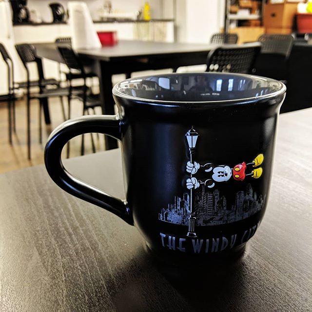 Last day before the holidays! Let's start with a coffee... #happyholidays I #coffee I #mickey I #windycity I #ratloopcanada I #mug I #gamedevlife