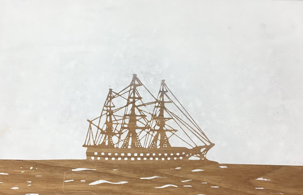 clipper ship ready for printing .jpg
