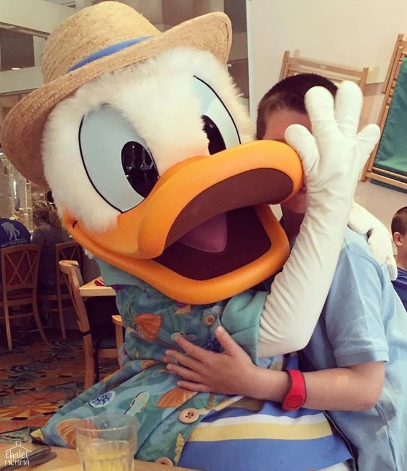 I Love Donald Duck and was thrilled Liam got to Meet him during our Character Breakfast! ( I highly recommend!)