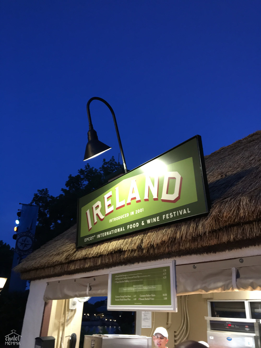 Ireland Kiosk with much yummy treats!