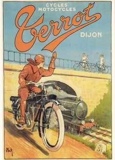 Verrot Motorcycle Advertisement