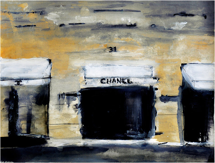 31 Rue - Chanel Paris Street Scene
