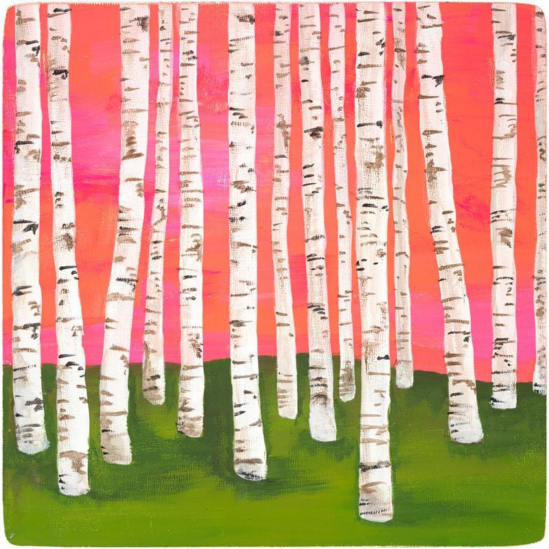 Birch Forest No. 7