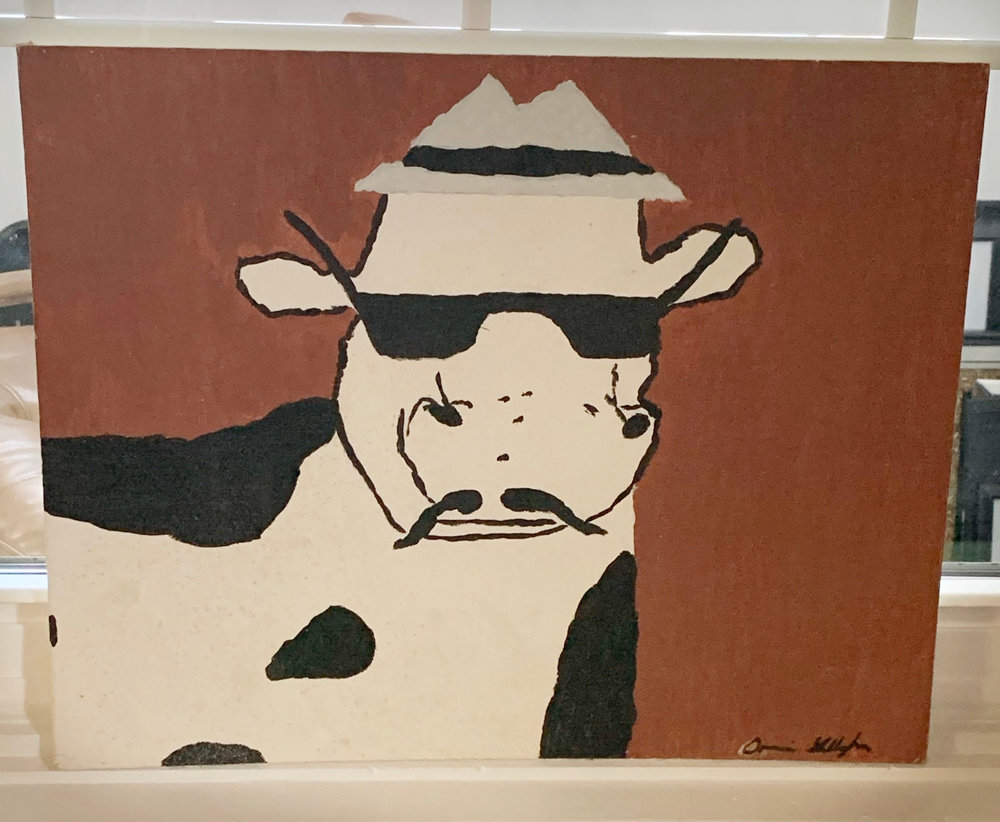 COW WITH SHADES by Donnie Gallagher